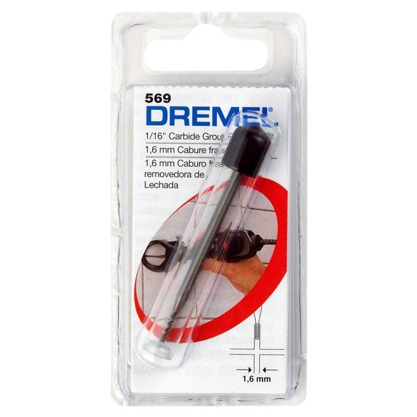 "Dremel 569 1/16"" Grout Removal Bit"