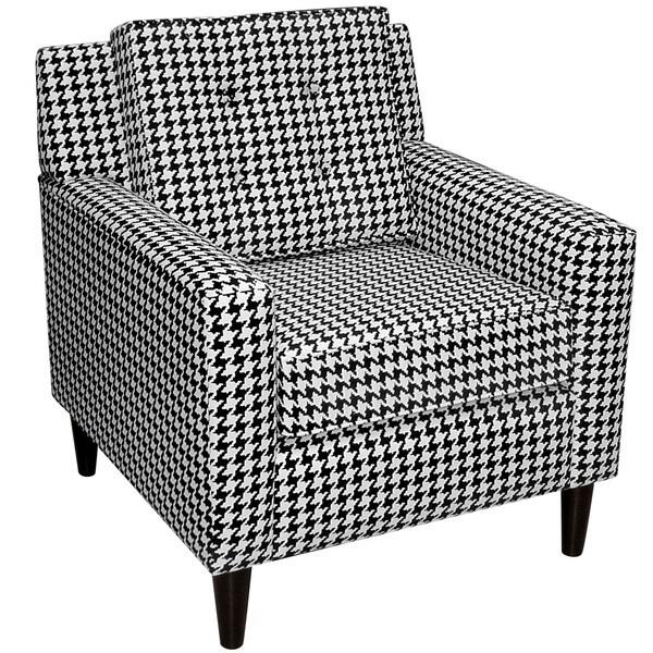 Skyline Furniture Berne Black Arm Chair