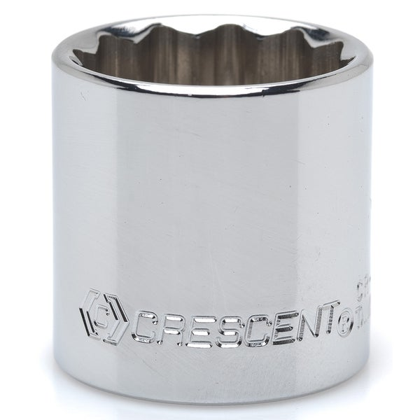 Crescent CDS44 .375-inch Drive 14mm 12 Pt Chrome Metric Socket