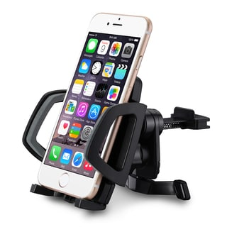 Mpow Grip Air Vent Car Mount Holder Cradle with Quick Release/Lock Button, 360 Degrees Rotation, Easy Installation