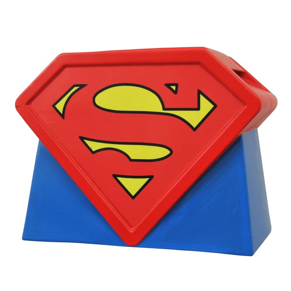 Diamond Select Toys Superman Animated Series Logo Cookie Jar 17786781