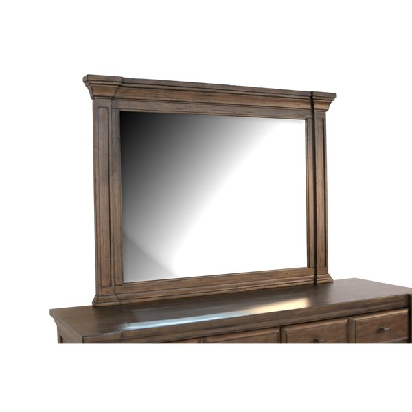 Simply Solid Logan Landscape Mirror