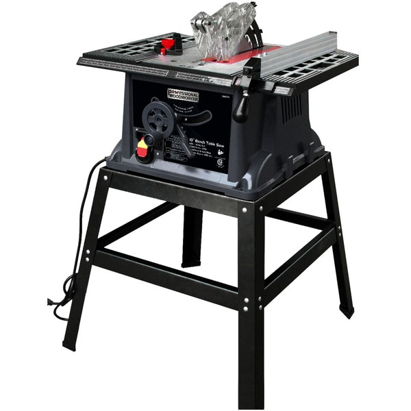 Professional Woodworker 10 Inch 13 Amp Industrial Bench Table Saw 18480166