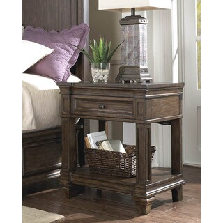Simply Solid Logan Solid Wood Nightstand
