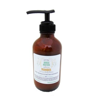 Tranquil Natural Artisan Lotion, Aromatherapy Lotion, Body Lotion by Karess Krafters Apothecary