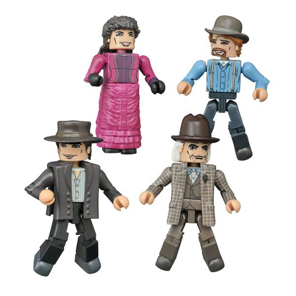 Diamond Select Toys Back to the Future Minimates 1885 Box Set 17787476