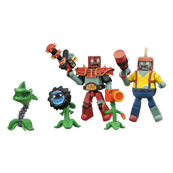 Diamond Select Toys Plants vs. Zombie Garden Warfare Minimates Series 2 Box Set 17787492