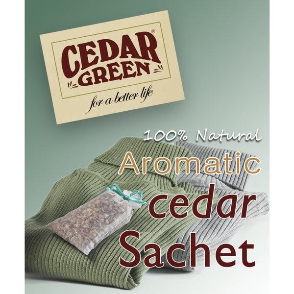 Aromatic Cedar Freshener Sachets, 24 pieces