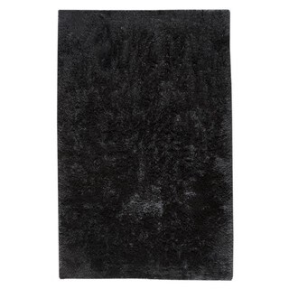 M.A.Trading Indian Hand-woven Sunshine Black Rug (8'x10')