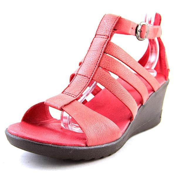 Keen Women's 'Victoria Sandal' Red Leather Sandals