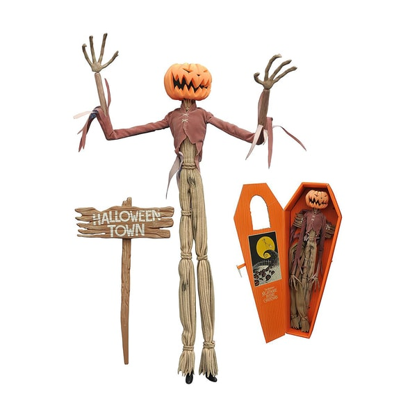 Diamond Select Toys Night before Christmas Pumpkin King Jack Coffin Doll 17788253