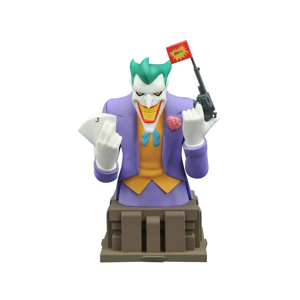 Diamond Select Toys Batman Animated Series Joker Bust 17788316