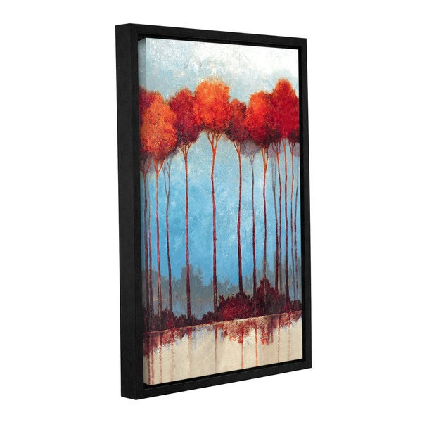 Pied Piper's Fall Trees, Gallery Wrapped Floater-framed Canvas 17788331