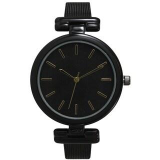 Olivia Pratt Women's Sleek and Petite Metal Watch