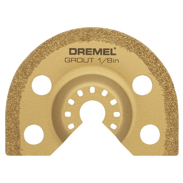 Dremel MM500 0.125-inch Grout Removal Blade