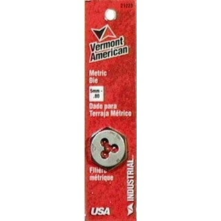 Vermont American 21223 5MM To 0.80MM Hexagon Metric Die
