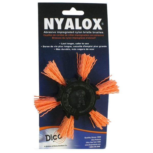 Dico 7200045 4-inch Coarse Nyalox Flap Wire Brush