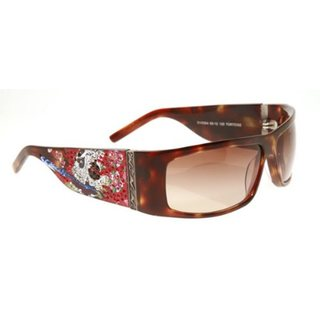 Ed Hardy Ehs 004 Beautiful Ghost Tortoise Sunglasses