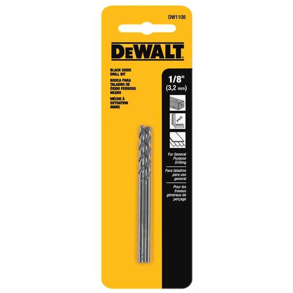 """DeWalt DW1108 1/8"""" Drill Bit"""