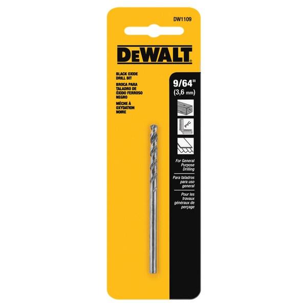 """DeWalt DW1109 9/64"""" Drill Bit"""