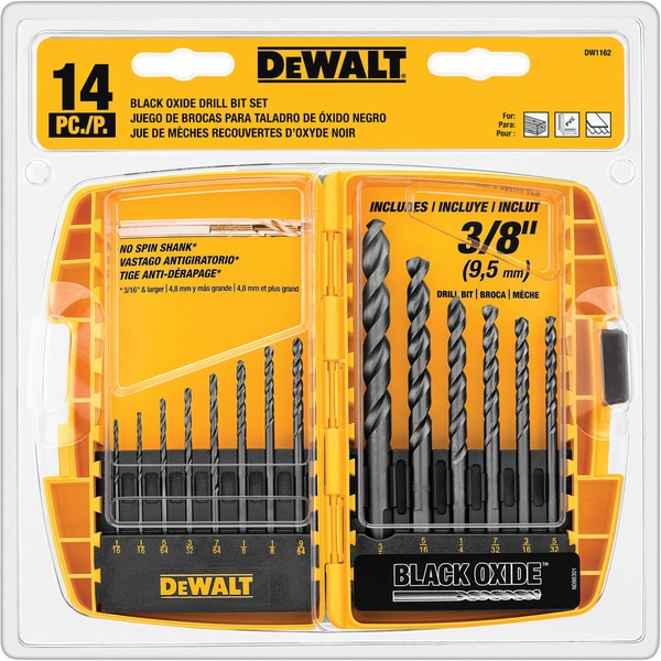 DeWalt DW1162 Drill Bit Set 14-count