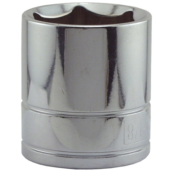 "Great Neck SK42 1-1/8"" X 1/2"" Drive 6 Point Sockets Standard"