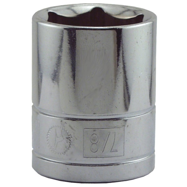 "Great Neck SK38 7/8"" X 1/2"" Drive 6 Point Socket Standard"