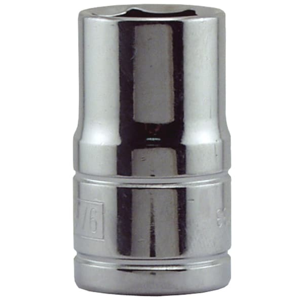 "Great Neck SK33 9/16"" X 1/2"" Drive 6 Point Socket Standard"
