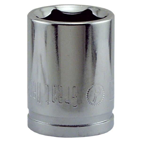 "Great Neck SK15M 15MM X 3/8"" Drive 6 Point Socket Metric"