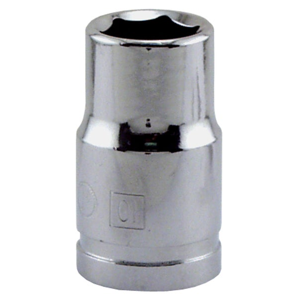 "Great Neck SK10M 10MM X 3/8"" Drive 6 Point Socket Metric"