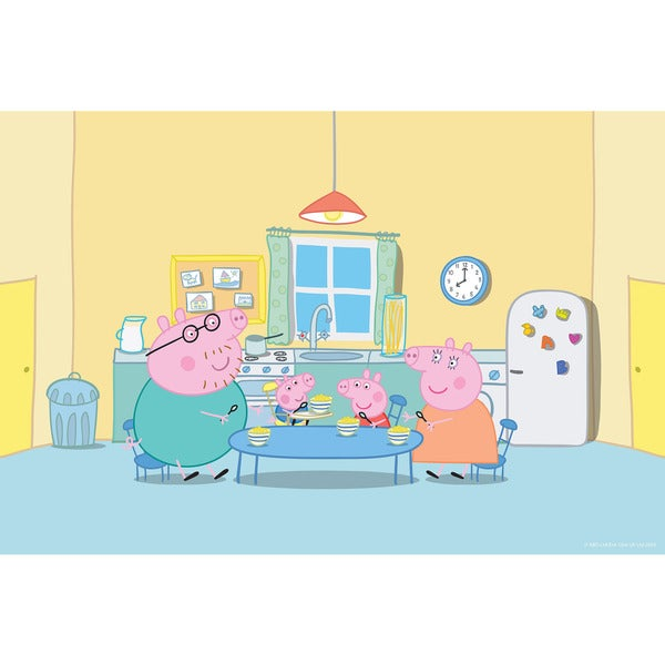 Marmont Hill 'Peppa in the Kitchen' Peppa Pig Painting Print on Canvas