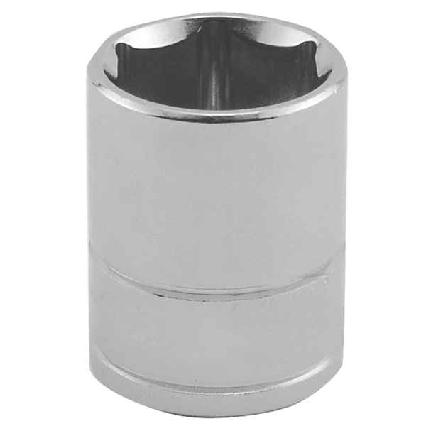 Great Neck 2075 1/2 Inch Drive Socket 6 Point 15MM