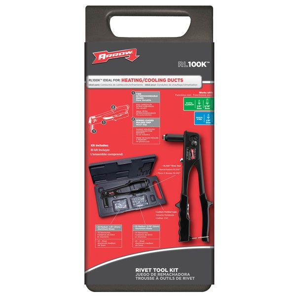 Arrow Fastener RL100K Rivet Tool Kit