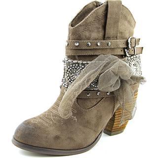 Not Rated Women's 'Work N Twerk ' Fabric Boots