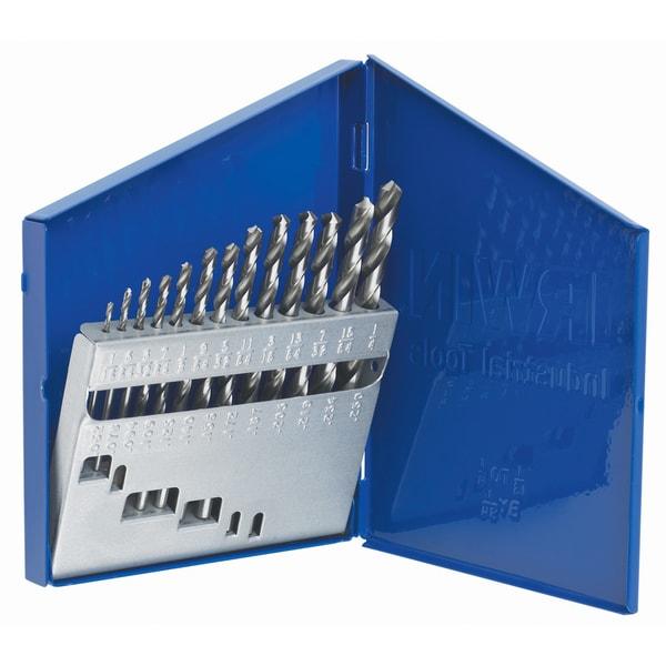 Irwin 60136 13 Piece Set High Speed Drill Bit