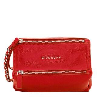 Givenchy Pandora Red Wristlet