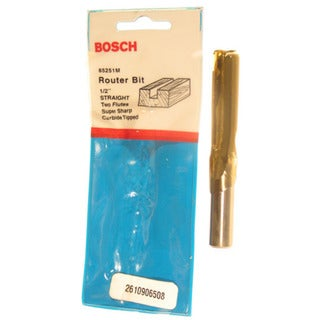 Bosch 85251M Straight Router Bit