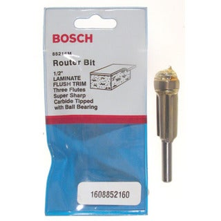 Bosch 85216M Laminate Flush Trim Router Bit Triple Flute