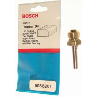 Bosch 85595M Roundover Router Bit Double Flute