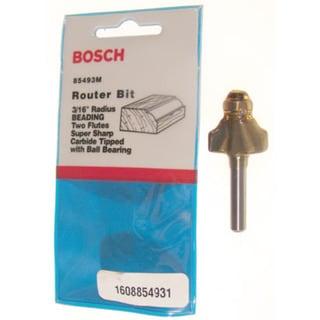 """Bosch 85493M 3/16"""" Beading Router Bit Double Flute"""