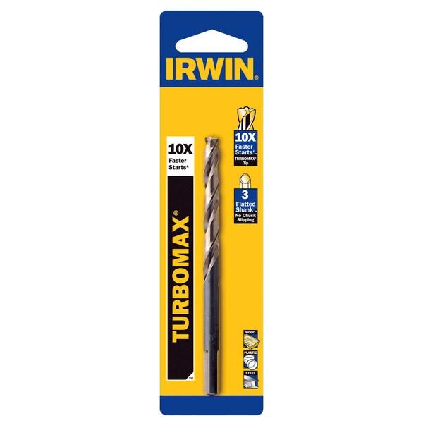 """Irwin 73316 1/4"""" Turbomax HSS Drill Bits"""