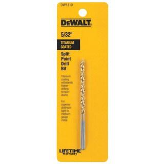 """Dewalt DW1310 5/32"""" Titanium Split Point Drill Bit"""