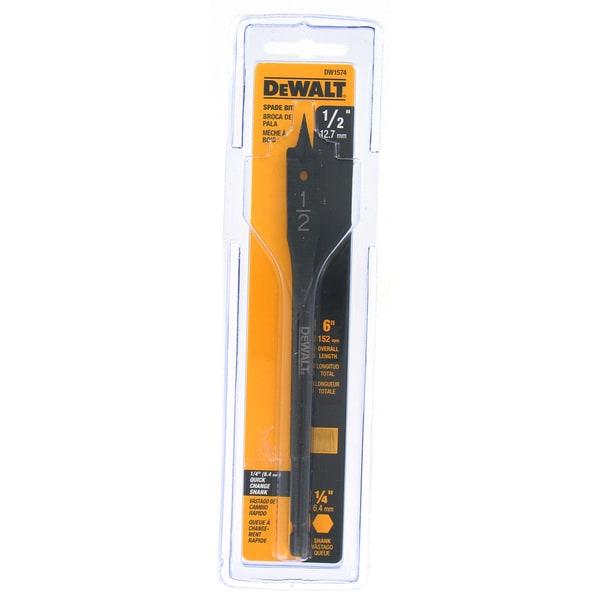 "DeWalt DW1574 1/2"" X 6"" Wood Boring Bit"