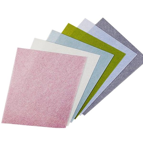 3M TRI-M-ITE Wet or Dry Polish PAPER 8000 GRIT 1 MIC Green, 5 shts ( ab615x5)