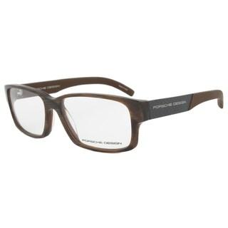 Porsche Design P8241 B Horn Brown Eyeglasses Frame