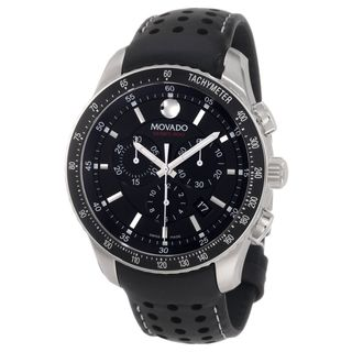 Movado Series 800 Quartz Chronograph Black Dial Men's Watch 2600096