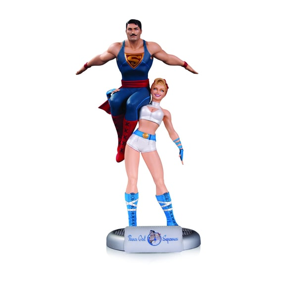 DC Comics Bombshells Power Girl and Superman Statue 17793731