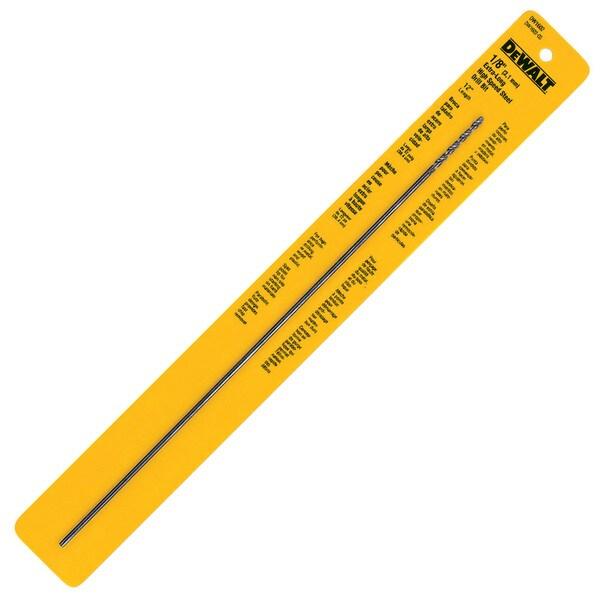 "Dewalt DW1602 Black Oxide 12"" Extra Long Drill Bit"