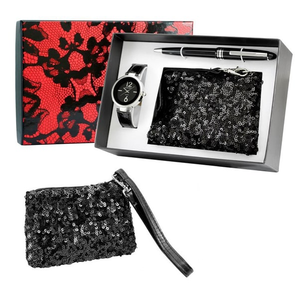 Limited Edition Wallet Watch Pen Gift Set