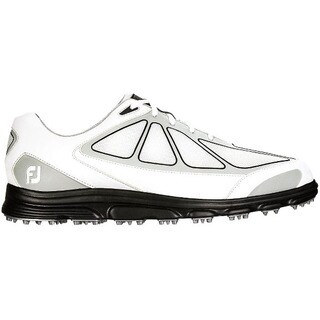 FootJoy Men's White/ Grey/ Black SuperLites Golf Shoes